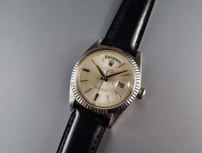 ref.1803/9 ホワイト シルバーダイヤル