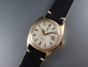 ref.6075 Yellow Early datejust
