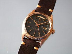 ref.1803/5 Pink Black dial