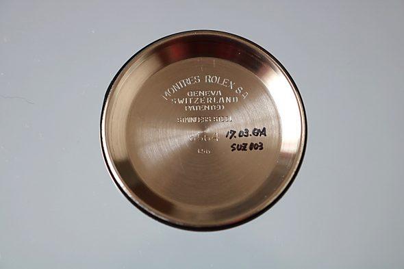 ref.6564 スティール 深度表記