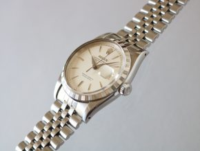 ref.6605 SS Pearl white